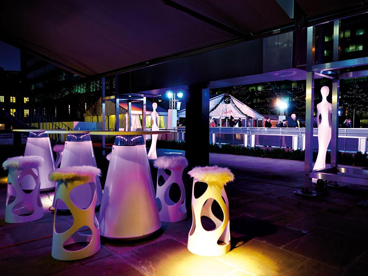 ... idea 37 : Faretti su cavo ikea illuminazione esterna ristorante nordic